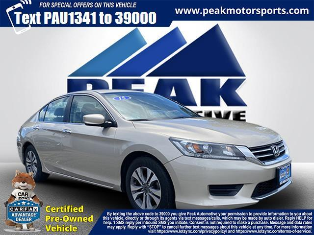 Used Honda Accord Sedan 4dr I4 CVT LX 2015 | Peak Automotive Inc.. Bayshore, New York