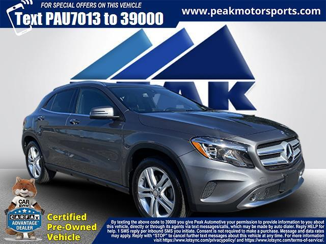 Used Mercedes-Benz GLA 4MATIC 4dr GLA 250 2016   Peak Automotive Inc.. Bayshore, New York
