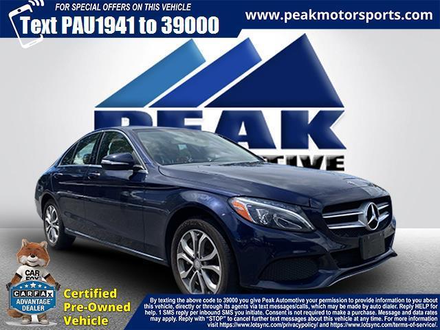 Used Mercedes-Benz C-Class 4dr Sdn C 300 Luxury 4MATIC 2015 | Peak Automotive Inc.. Bayshore, New York