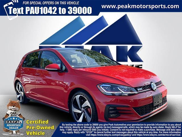 Used Volkswagen Golf GTI 2.0T Autobahn DSG 2018 | Peak Automotive Inc.. Bayshore, New York