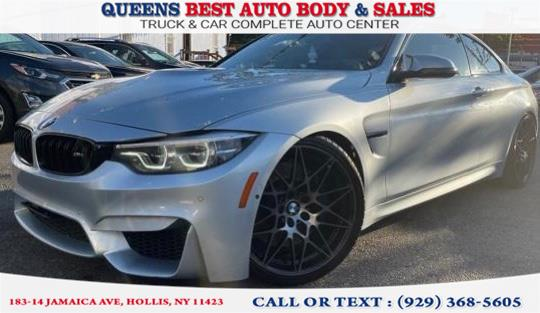 Used 2018 BMW M4 in Hollis, New York | Queens Best Auto Body / Sales. Hollis, New York