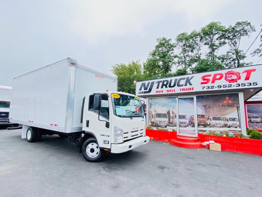 Used ISUZU NPR 20 FEET DRY BOX + NO CDL 2012   NJ Truck Spot. South Amboy, New Jersey