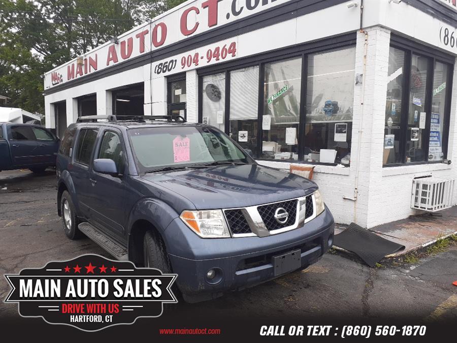 Used Nissan Pathfinder SE 4WD 2005   Main Auto Sales LLC. Hartford, Connecticut