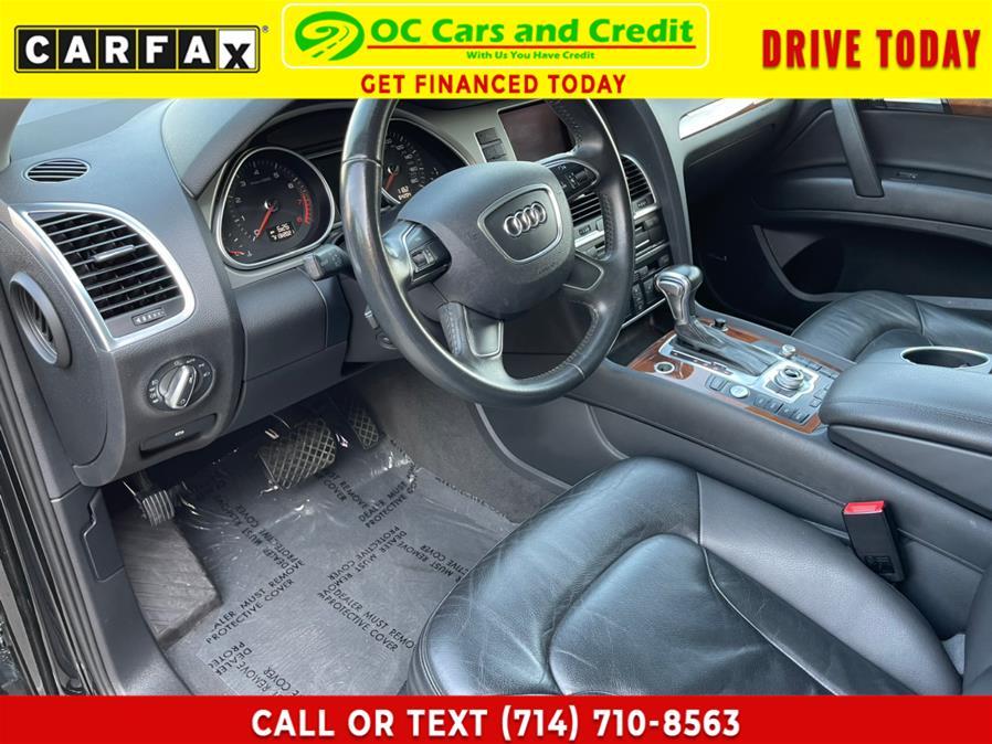 Used Audi Q7 quattro 4dr 3.0T Premium Plus 2015 | OC Cars and Credit. Garden Grove, California