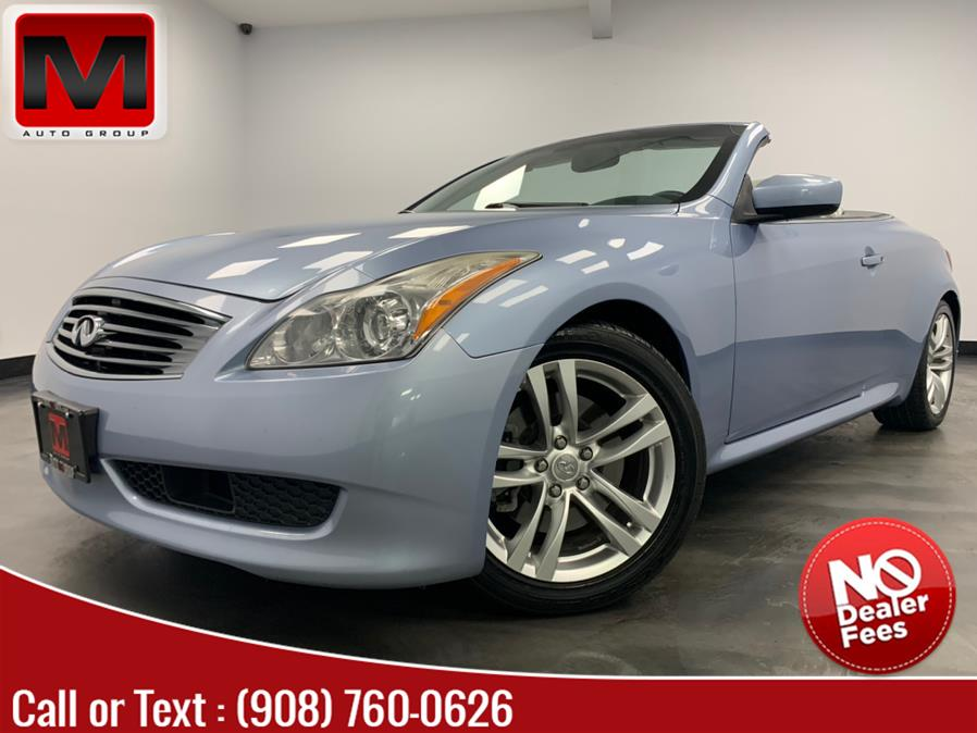 Used INFINITI G37 Convertible 2dr Base 2009 | M Auto Group. Elizabeth, New Jersey