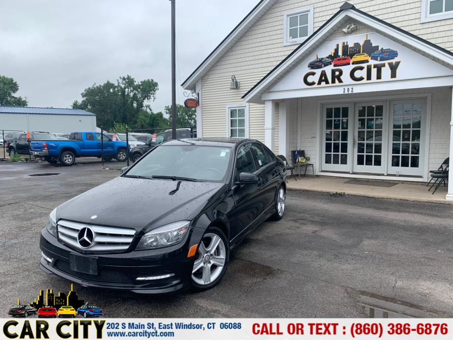 Used Mercedes-Benz C-Class 4dr Sdn C300 Luxury 4MATIC 2011 | Car City LLC. East Windsor, Connecticut