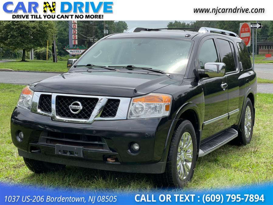 Used Nissan Armada Platinum 4WD 2015 | Car N Drive. Bordentown, New Jersey