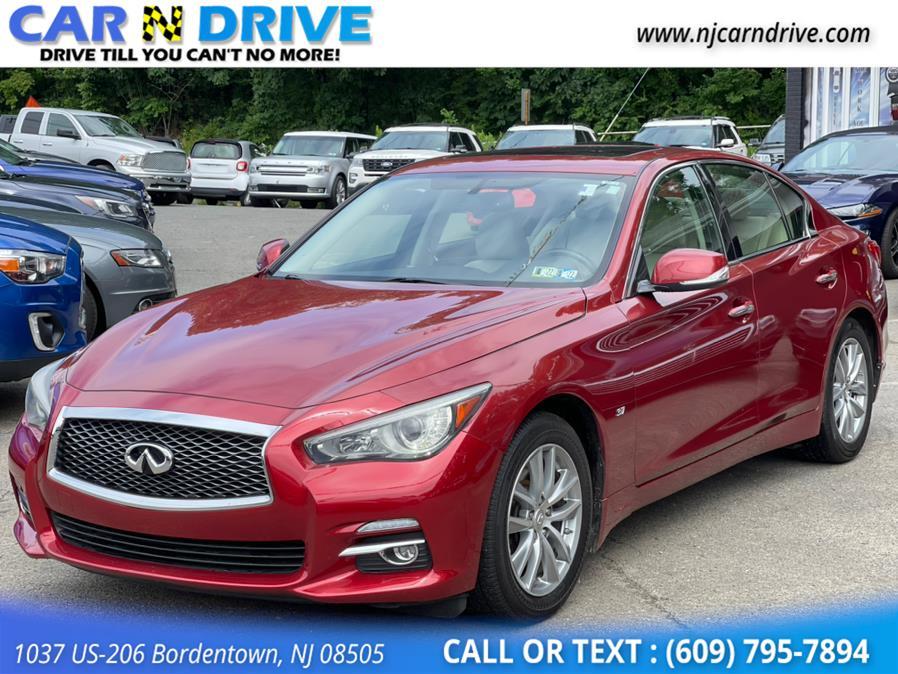 Used Infiniti Q50 Premium AWD 2014   Car N Drive. Bordentown, New Jersey