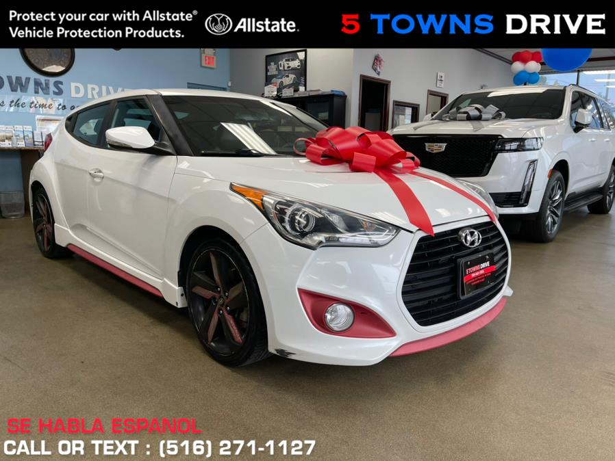 Used Hyundai Veloster 3dr Cpe Man Turbo w/Blue Int 2013 | 5 Towns Drive. Inwood, New York