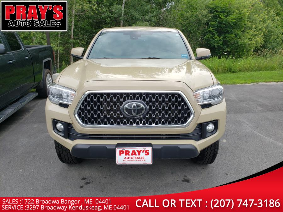 Used Toyota Tacoma TRD Off Road Double Cab 5'' Bed V6 4x4 MT (Natl) 2018   Pray's Auto Sales . Bangor , Maine