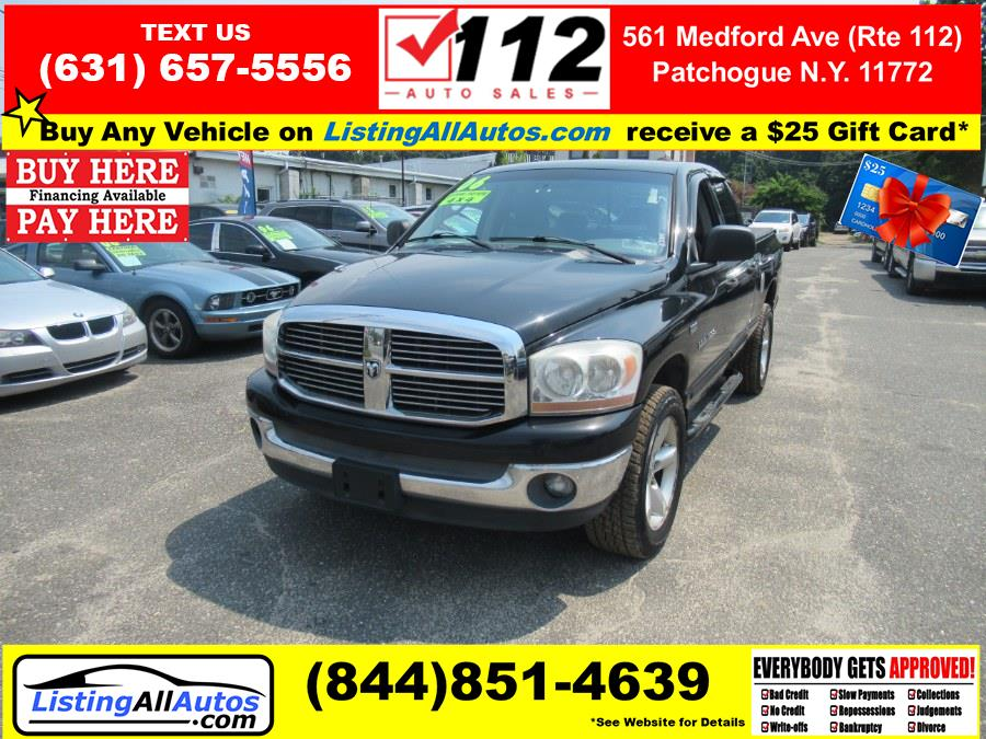 Used 2006 Dodge Ram 1500 in Patchogue, New York   www.ListingAllAutos.com. Patchogue, New York