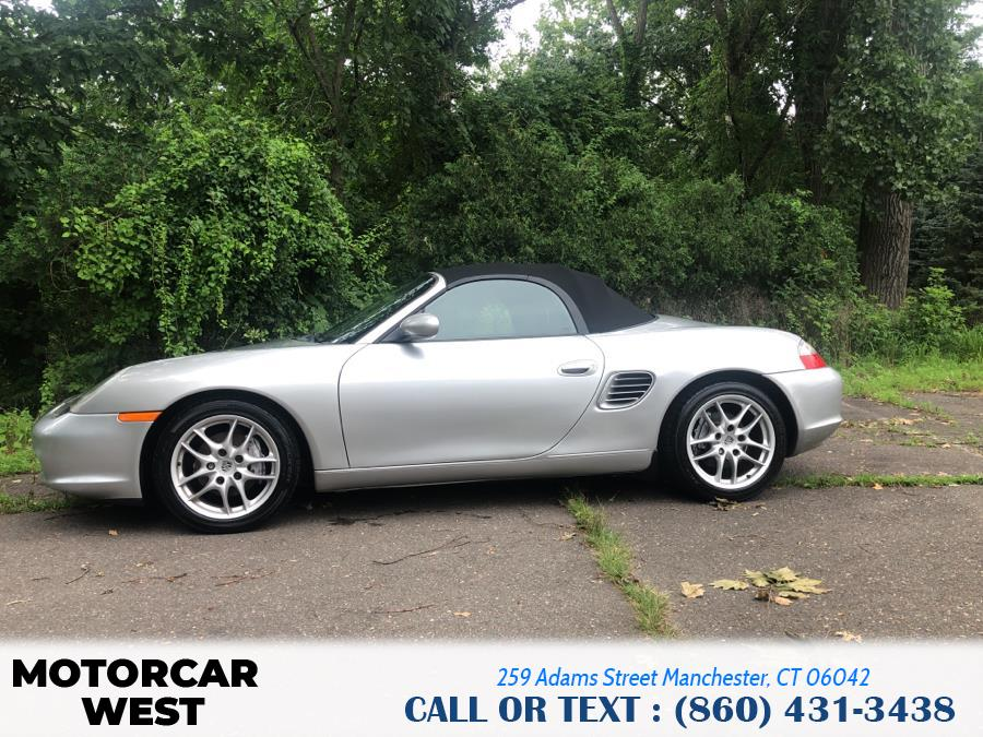 Used Porsche Boxster 2dr Roadster 5-Spd Manual 2004 | Motorcar West. Manchester, Connecticut