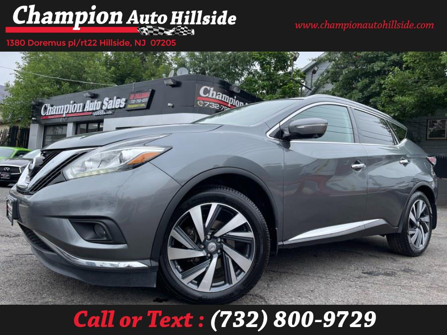 Used 2015 Nissan Murano in Hillside, New Jersey | Champion Auto Sales. Hillside, New Jersey
