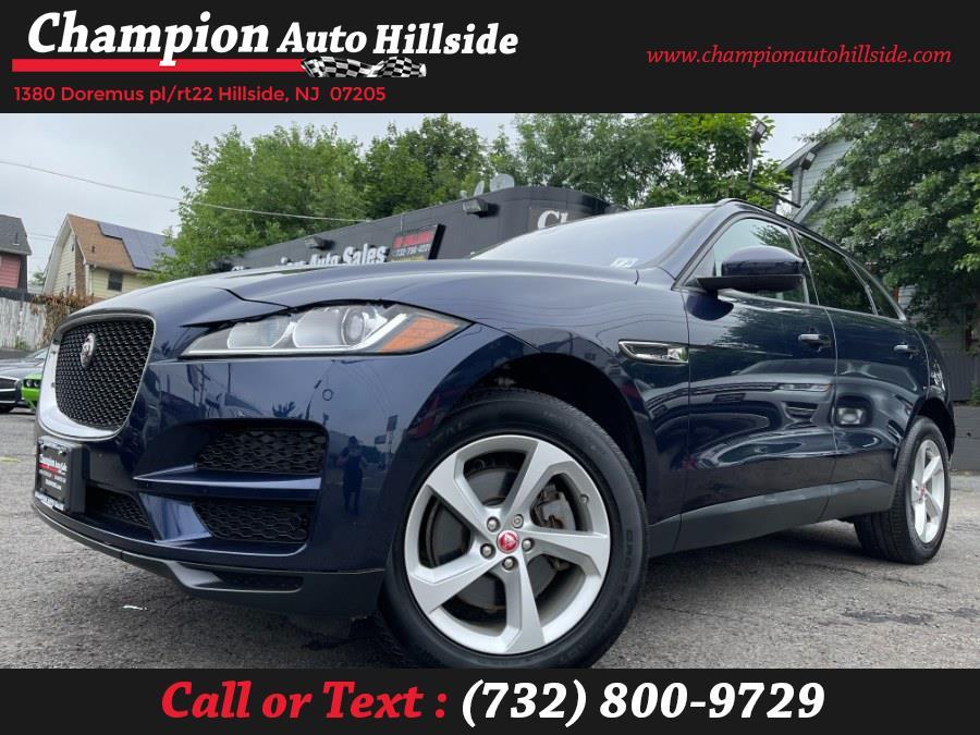 Used 2018 Jaguar F-PACE in Hillside, New Jersey | Champion Auto Sales. Hillside, New Jersey
