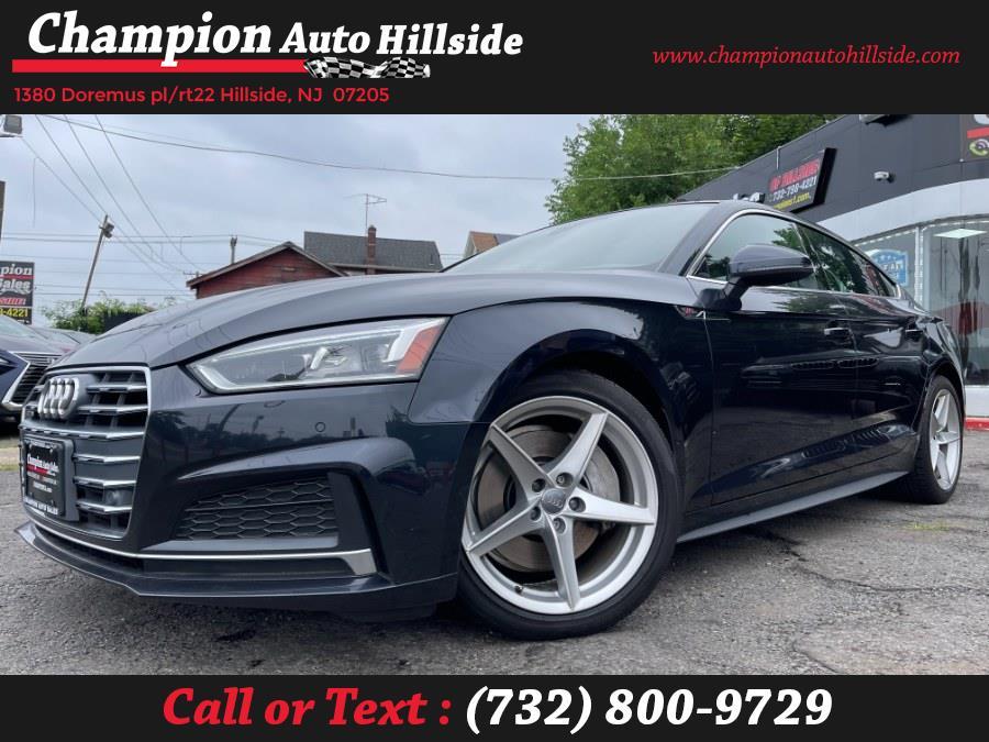 Used 2018 Audi A5 Sportback in Hillside, New Jersey | Champion Auto Sales. Hillside, New Jersey