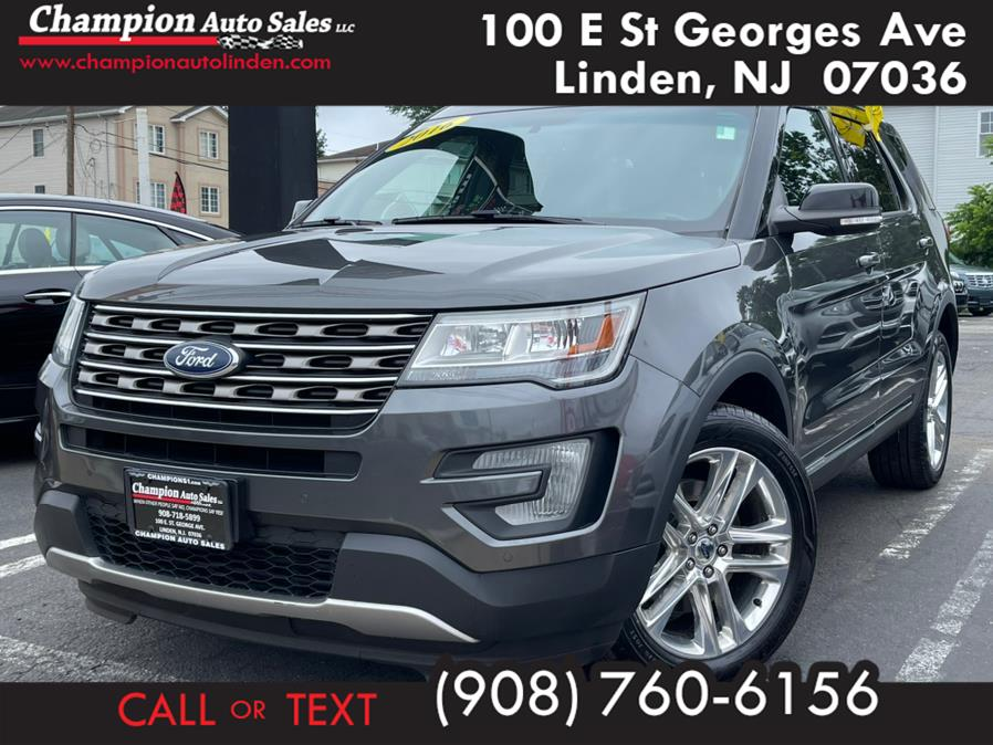 Used 2016 Ford Explorer in Linden, New Jersey | Champion Auto Sales. Linden, New Jersey