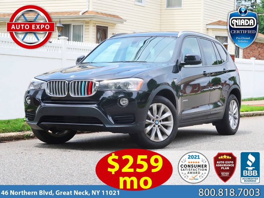 Used BMW X3 xDrive28i 2017 | Auto Expo Ent Inc.. Great Neck, New York