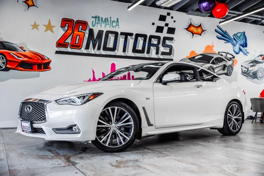 Used 2018 INFINITI Q60 LUXE in Hollis, New York | Jamaica 26 Motors. Hollis, New York