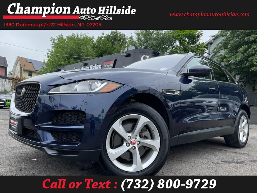 Used 2018 Jaguar F-PACE in Hillside, New Jersey | Champion Auto Hillside. Hillside, New Jersey