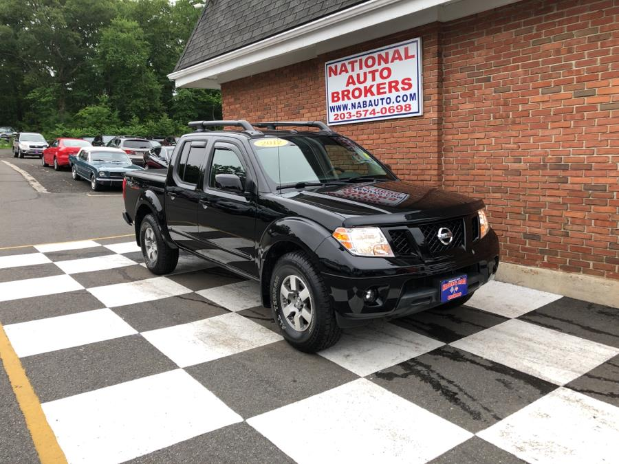 Used Nissan Frontier 4WD Crew Cab Pro-4X 2012   National Auto Brokers, Inc.. Waterbury, Connecticut