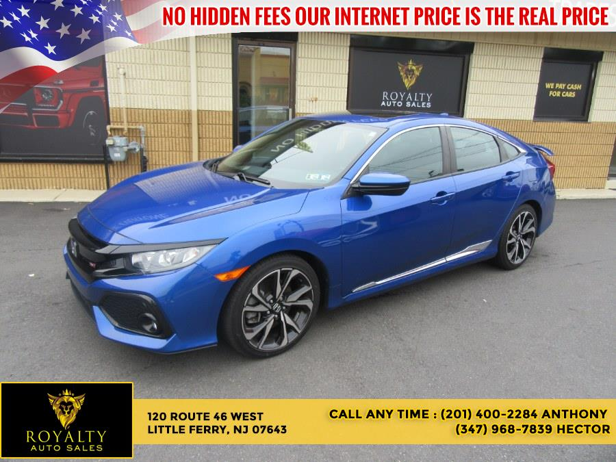 Used Honda Civic Si Sedan Manual w/High Performance Tires 2018 | Royalty Auto Sales. Little Ferry, New Jersey
