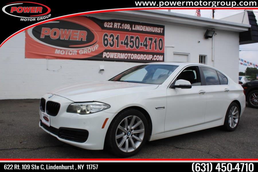 Used BMW 5 Series 4dr Sdn 535i xDrive AWD 2014 | Power Motor Group. Lindenhurst, New York