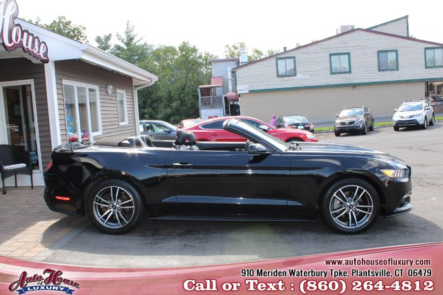 Used Ford Mustang EcoBoost Premium Convertible 2017 | Auto House of Luxury. Plantsville, Connecticut