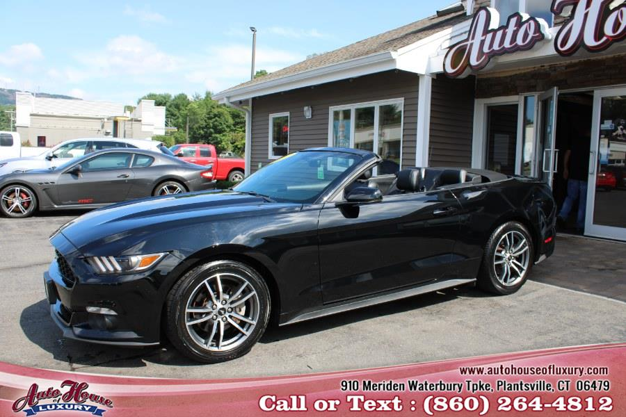 Used 2017 Ford Mustang in Plantsville, Connecticut | Auto House of Luxury. Plantsville, Connecticut