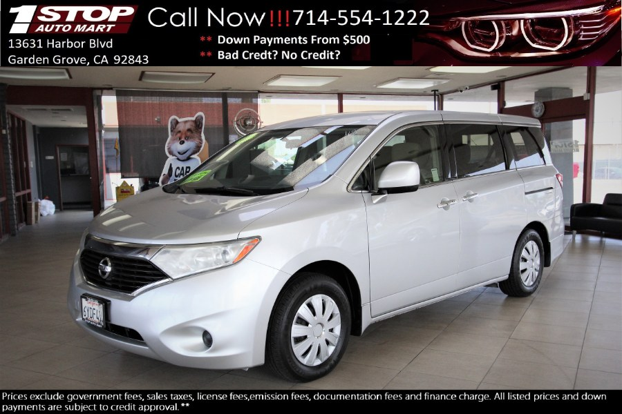 Used 2012 Nissan Quest in Garden Grove, California | 1 Stop Auto Mart Inc.. Garden Grove, California