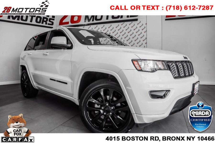 Used Jeep Grand Cherokee Altitude 4x4 *Ltd Avail* 2018   26 Motors Corp. Bronx, New York