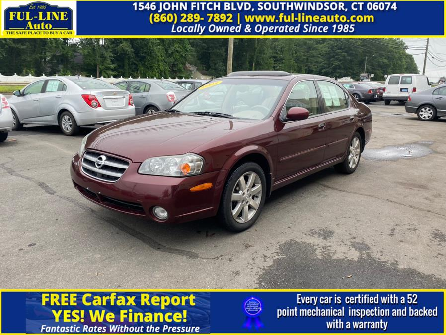 Used 2003 Nissan Maxima in South Windsor , Connecticut | Ful-line Auto LLC. South Windsor , Connecticut