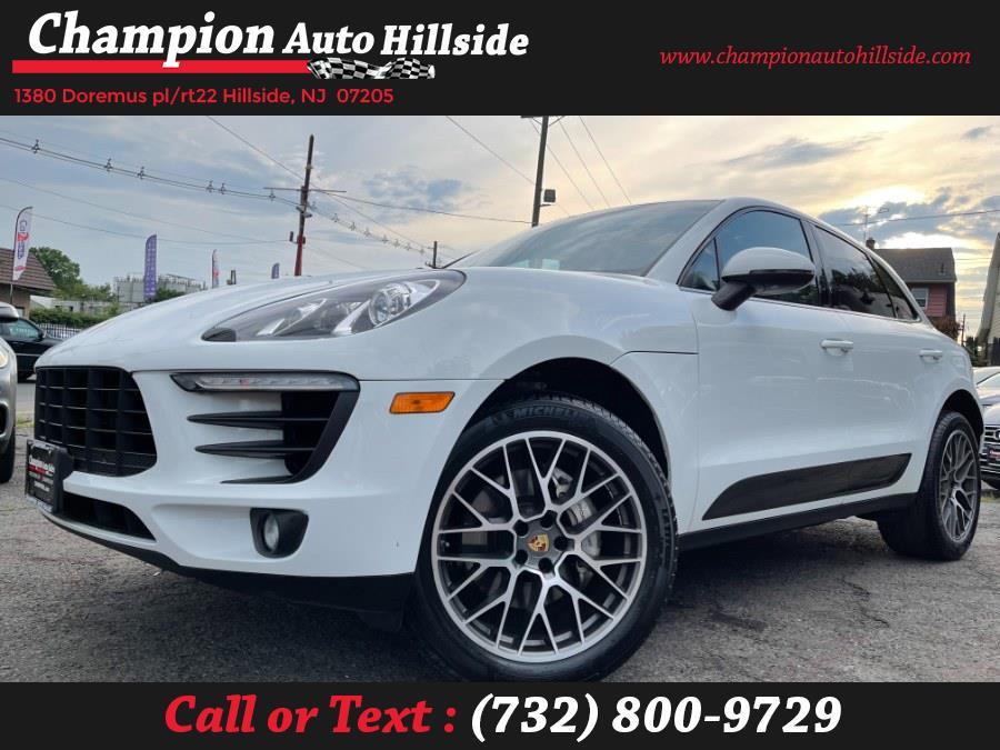 Used 2016 Porsche Macan in Hillside, New Jersey   Champion Auto Hillside. Hillside, New Jersey