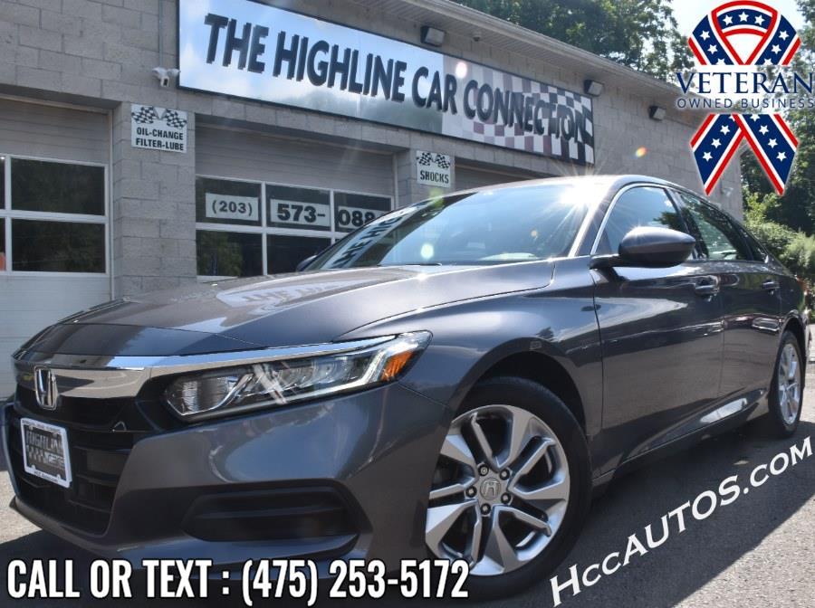 Used Honda Accord Sedan LX 1.5T CVT 2018 | Highline Car Connection. Waterbury, Connecticut