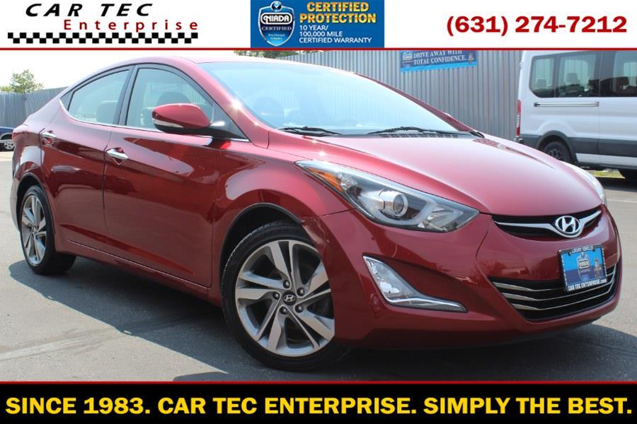 Used Hyundai Elantra LIMITED 2014   Car Tec Enterprise Leasing & Sales LLC. Deer Park, New York