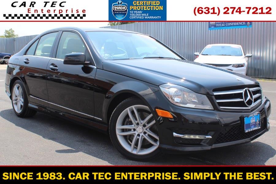 Used Mercedes-Benz C-Class 4dr Sdn C300 Sport 4MATIC 2014 | Car Tec Enterprise Leasing & Sales LLC. Deer Park, New York