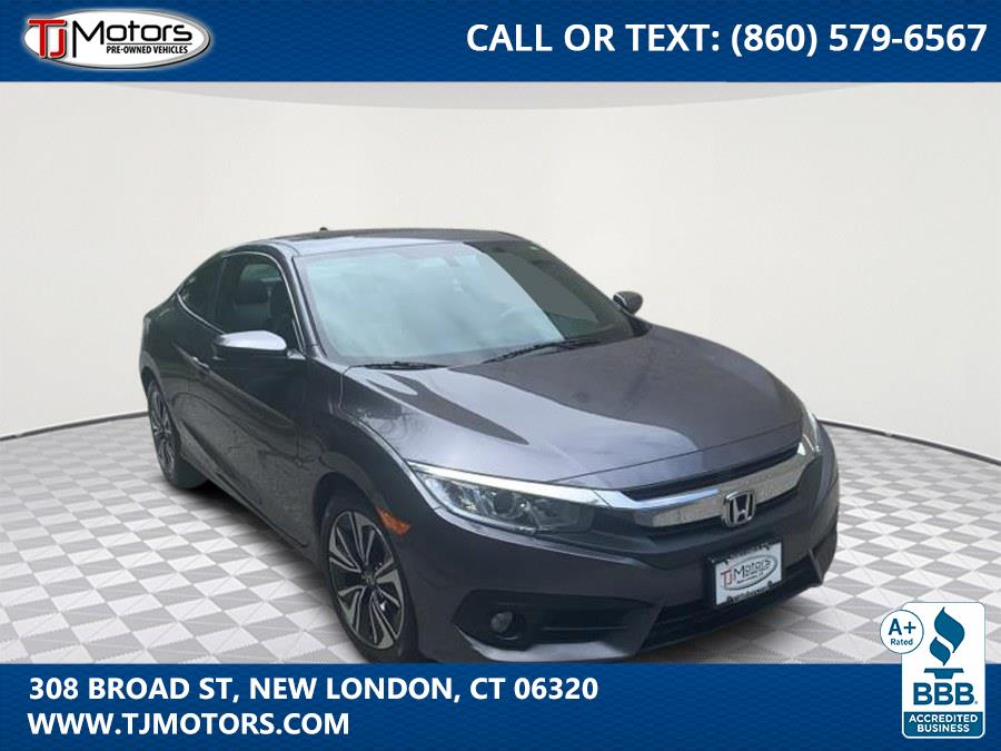 Used 2016 Honda Civic Coupe in New London, Connecticut | TJ Motors. New London, Connecticut