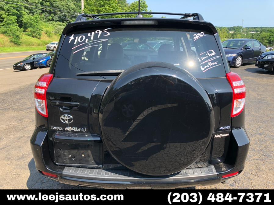Used Toyota RAV4 4WD 4dr 4-cyl 4-Spd AT Ltd (Natl) 2010   LeeJ's Auto Sales & Service. North Branford, Connecticut
