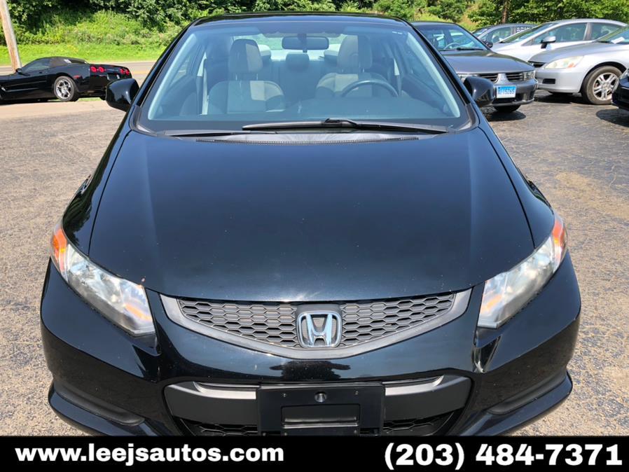 Used Honda Civic Cpe 2dr Auto EX 2012   LeeJ's Auto Sales & Service. North Branford, Connecticut