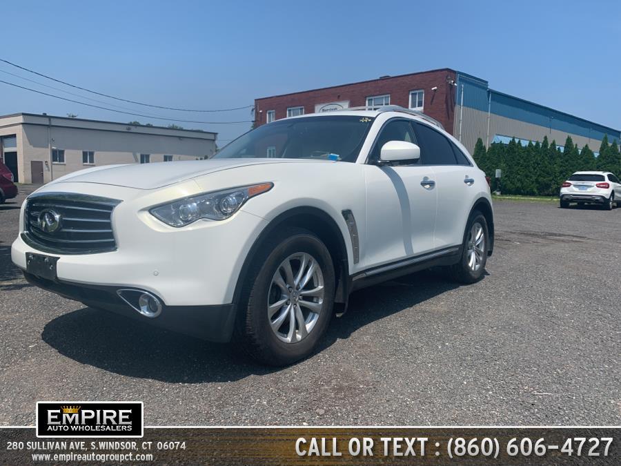 Used 2015 INFINITI QX70 in S.Windsor, Connecticut | Empire Auto Wholesalers. S.Windsor, Connecticut