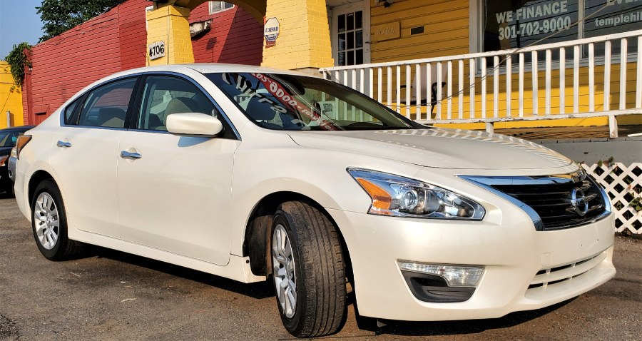 Used Nissan Altima 4dr Sdn I4 2.5 S 2015 | Temple Hills Used Car. Temple Hills, Maryland