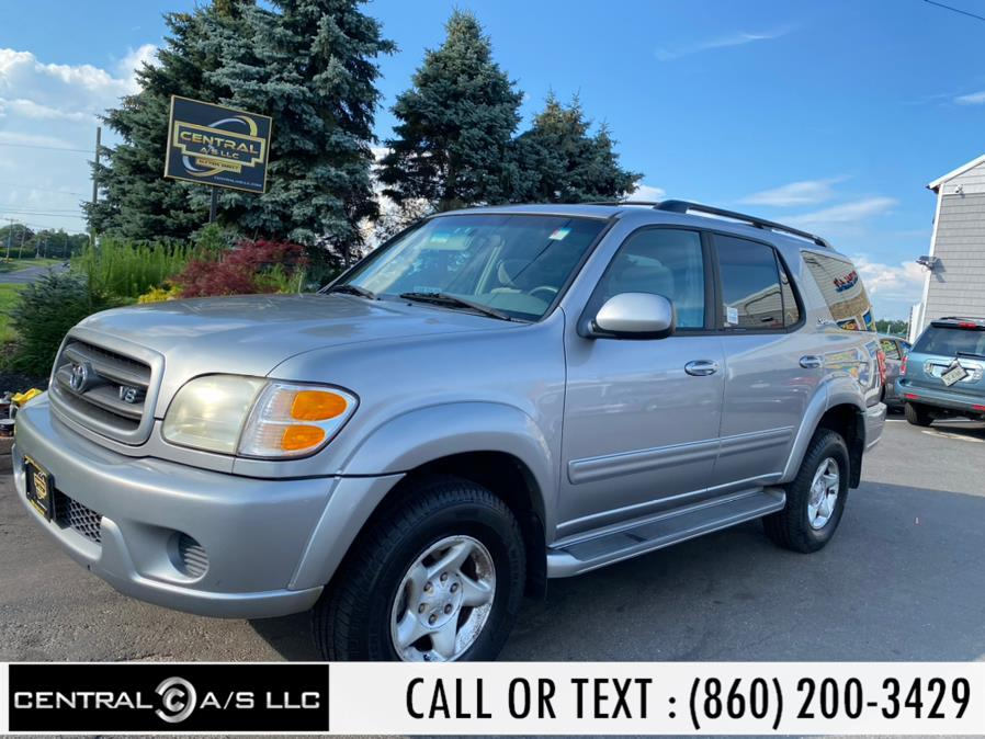 Used Toyota Sequoia 4dr SR5 4WD 2002 | Central A/S LLC. East Windsor, Connecticut