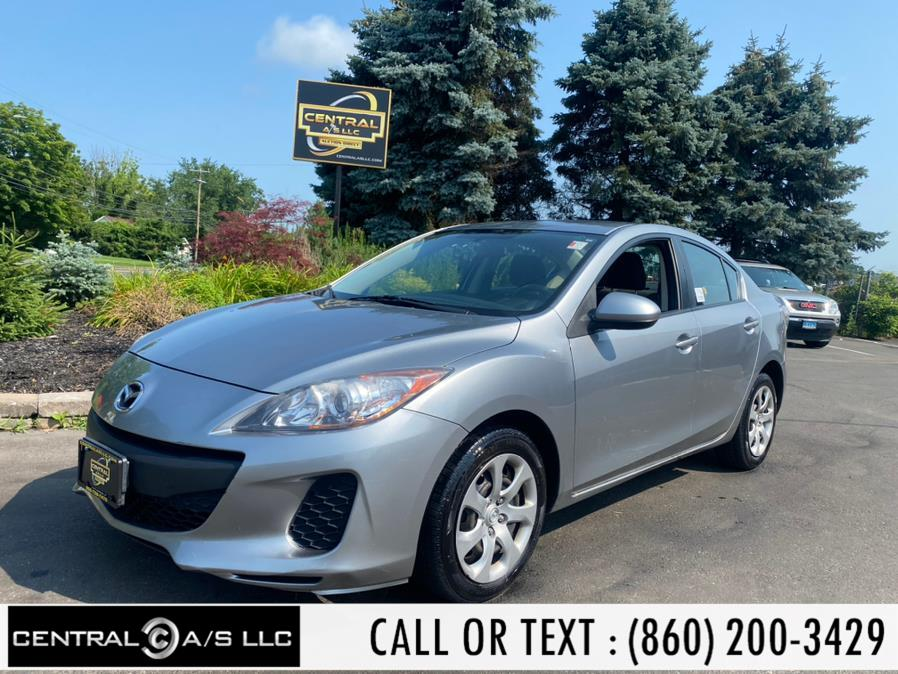 Used Mazda Mazda3 4dr Sdn Auto i SV 2013 | Central A/S LLC. East Windsor, Connecticut