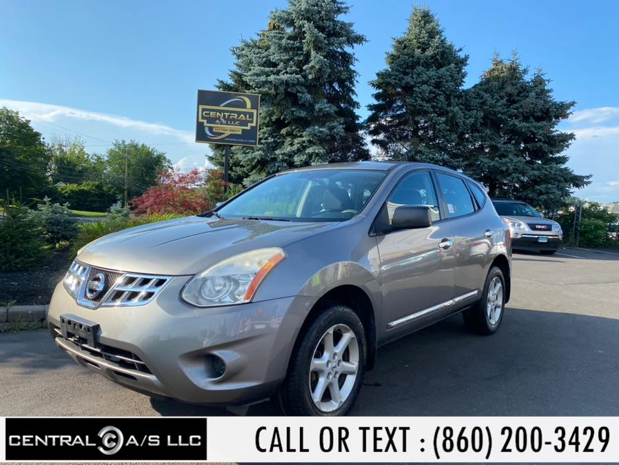 Used Nissan Rogue AWD 4dr S 2012 | Central A/S LLC. East Windsor, Connecticut