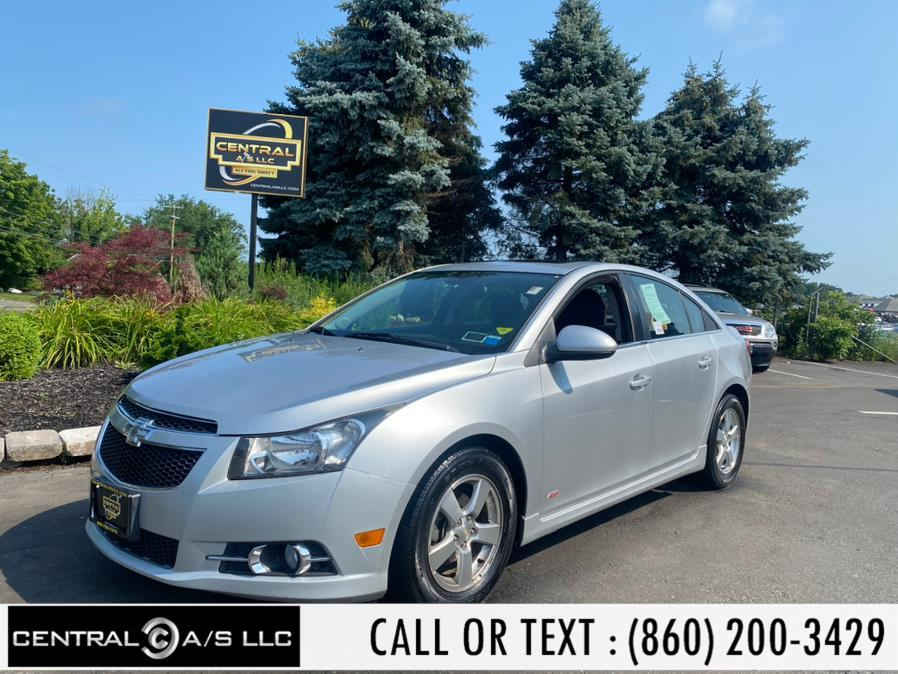Used Chevrolet Cruze 4dr Sdn Auto 1LT 2014 | Central A/S LLC. East Windsor, Connecticut