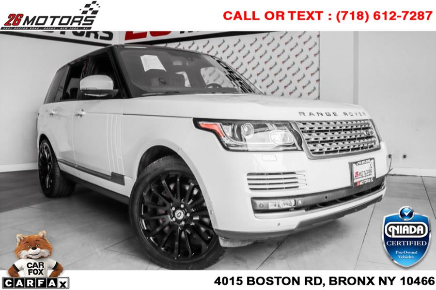 Used Land Rover Range Rover 4WD 4dr Supercharged 2014   26 Motors Corp. Bronx, New York
