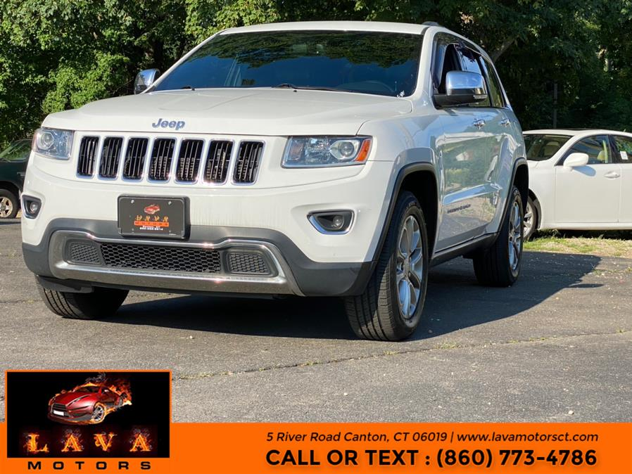 Used Jeep Grand Cherokee 4WD 4dr Limited 2014 | Lava Motors. Canton, Connecticut