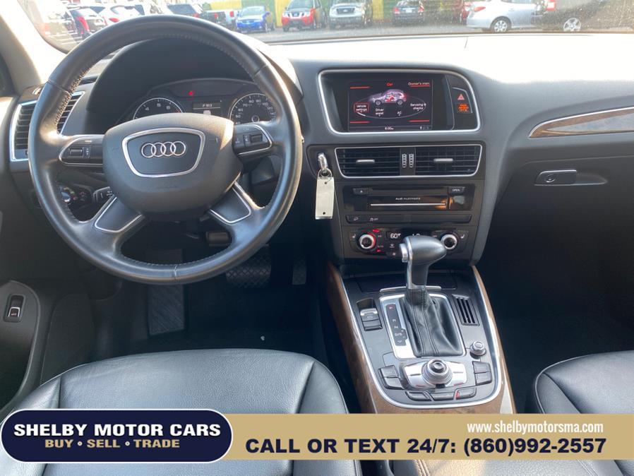 Used Audi Q5 quattro 4dr 2.0T Premium 2016   Shelby Motor Cars. Springfield, Massachusetts