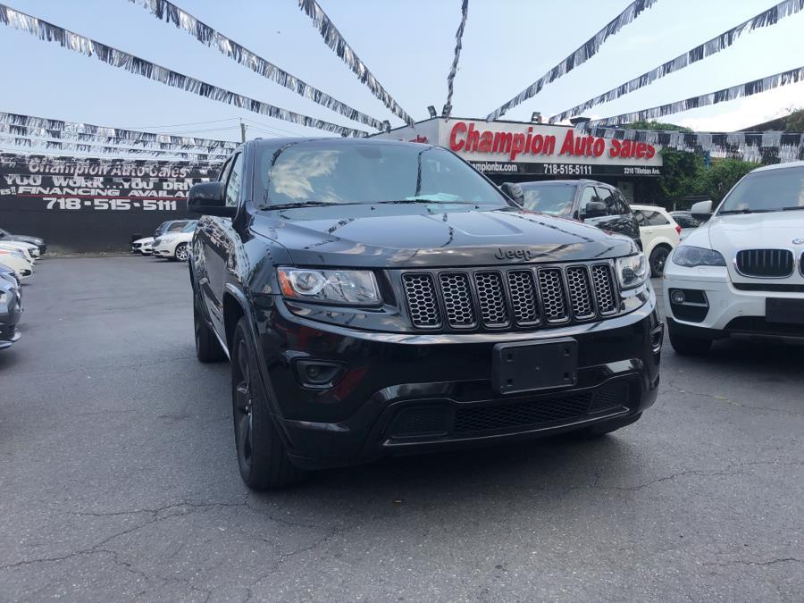 Used Jeep Grand Cherokee 4WD 4dr Laredo 2015   Champion Auto Sales Of The Bronx. Bronx, New York