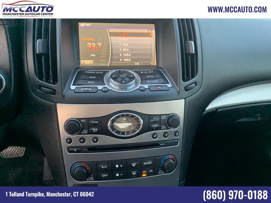 Used Infiniti G25 Sedan 4dr x AWD 2011 | Manchester Autocar Center. Manchester, Connecticut