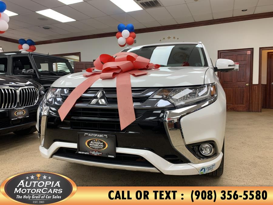 Used Mitsubishi Outlander PHEV GT S-AWC 2018 | Autopia Motorcars Inc. Union, New Jersey